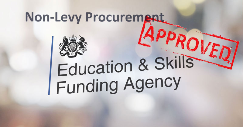 Non-Levy Apprenticeship Procurement announced! - Recap on Rules, Regulations and Resources.