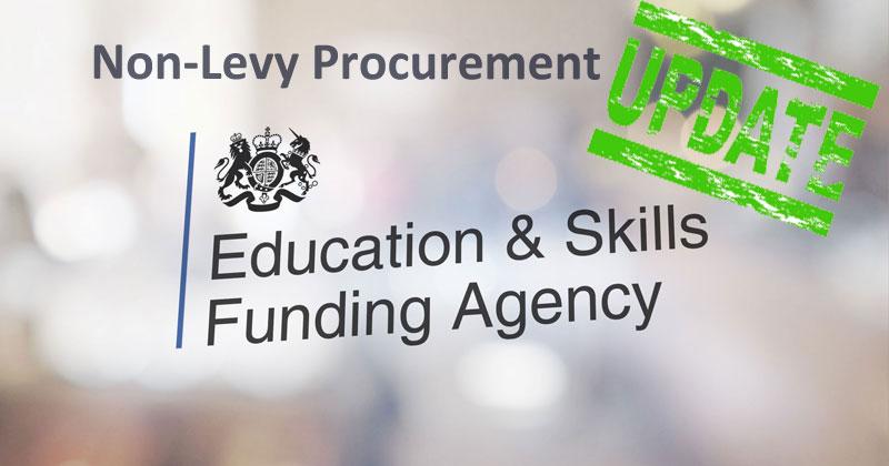 ITT Non-Levy Procurement Opens!